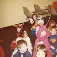 Children's Room Halloween Party 1979