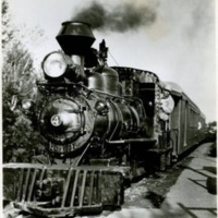 Steam Train at Freedomland