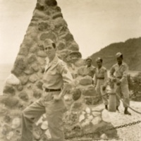 Melvin at Corregidor.